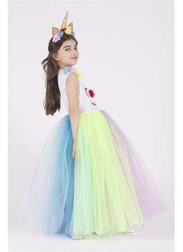 Lela Lela Taçlı Unicorn  Kız Çocuk    Renkli